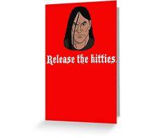 Dethklok's Island for Wayward Kitties Greeting Card