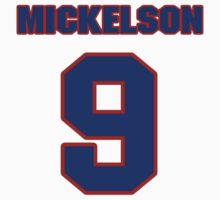National baseball player Ed Mickelson jersey 9 by imsport