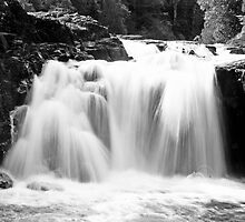 Upper Falls on the Brule River by sara montour