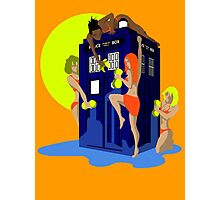 Tardis wash Photographic Print