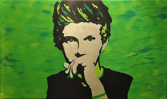 Niall Horan Pop-Art Portrait by May92