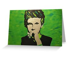 Niall Horan Pop-Art Portrait Greeting Card