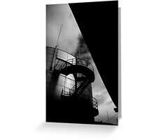 Upwards and Under Greeting Card
