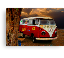 THE HIPPIES HAVE ALL GONE NOW.......... Canvas Print