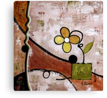 Frisky Floral Canvas Print