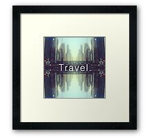 Travel. Dubai Framed Print