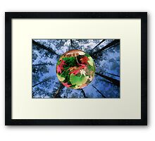 Forest Bubble Framed Print