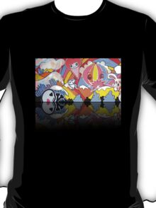 Collaboration Painting - mikoto & Shannon Crees (also a 2 minute time lapse video!) T-Shirt