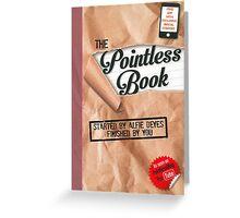 Alfie Deyes - The Pointless Book Greeting Card