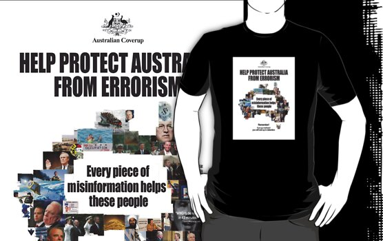 Errorism (White Background for Black Tshirt) by chaosfilter