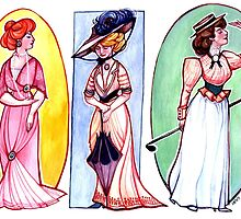 Edwardian Fashions by pignpepper