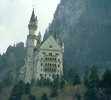 Fairy tale castle  by mwfoster