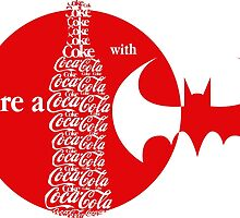 Share a Coke with Batman by mrsaad27