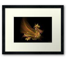 Golden Dragon Framed Print