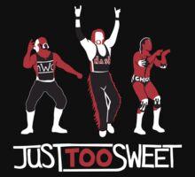 """Just Too Sweet"" Wrestling Design Kids Clothes"