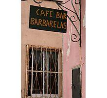 Barbarelas Photographic Print
