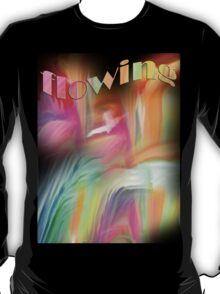 Flowing- Abstract- 26/wall art +Clothing & Stickers+Pillows & Totes+ IPhone Cases + Laptop Skins+Mugs+ T-Shirt