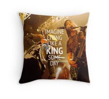 King For a Day // Pierce The Veil Throw Pillow
