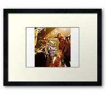 King For a Day // Pierce The Veil Framed Print
