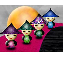 Inner Child - Little China Dolls Photographic Print