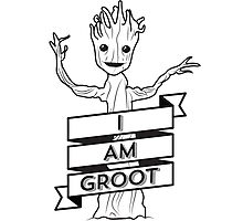 I AM GROOT Photographic Print