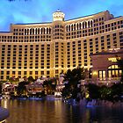 Bellagio Sunset - December 2006 by urbanphotos