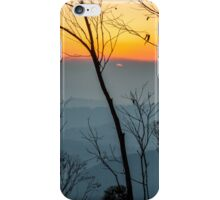 Megalong Sunset (large print) iPhone Case/Skin
