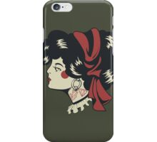 The Lady - Army Green iPhone Case/Skin