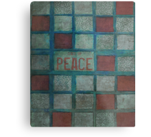 State Of Peace Metal Print