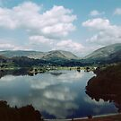 Grasmere from Loughrigg Fell Lake District England 198405200026  by Fred Mitchell