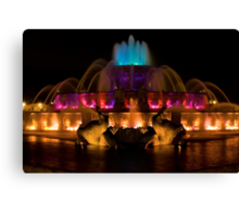Fountain of Inspiration Canvas Print
