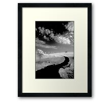 Pathway to Perdition Framed Print