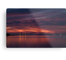 Corio Bay, Portarlington,Bellarine Peninsula Metal Print