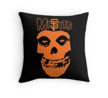 SF Misfits (NOW WITH BETTER COLOR!) Throw Pillow