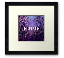 Flume - Glitch Edit Framed Print