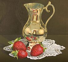 The brass jug by Freda Surgenor