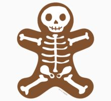 Skeleton Gingerbread Man  by ArtVixen