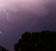 Lightning Strikes Sticker