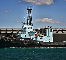 PB Koumala Tug Boat - Newcastle Harbour NSW by Phil Woodman