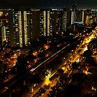 towards Jurong from Bukit Batok, Singapore by Leone