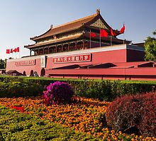 Tiananmen in Beijing China art photo print by ArtNudePhotos
