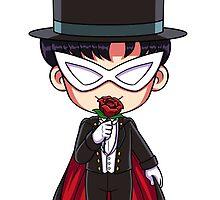 Chibi Tuxedo Mask by RedFlare