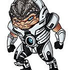 Chibi Grunt by RedFlare