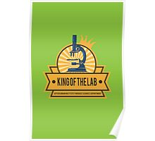 Jeffersonian's King of the Lab! Poster