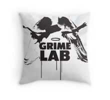 Grime Lab Angel Throw Pillow