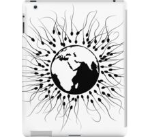 Overpopulation - Save the Planet iPad Case/Skin