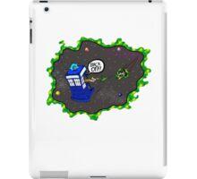 Tardis VS Delorean iPad Case/Skin