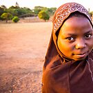 Little Muslim Girl by Tim Cowley
