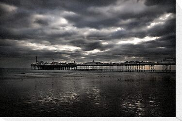 Brighton pier by Matthew Bonnington