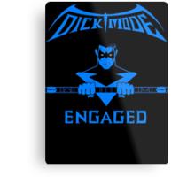 DickMode Metal Print
